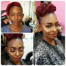 before and after the transformation makeup for black women international makeup for bookings contact info make upbysasha com