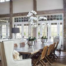 dining table decor. Contemporary Decor Example Of A Large Country Medium Tone Wood Floor And Brown Great  Room Design In Inside Dining Table Decor