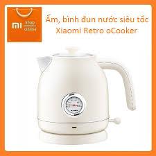 Ấm, bình đun nước siêu tốc Xiaomi Retro oCooker - Hiển thị đồng hồ đo nhiệt  độ