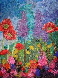 Impressionistic Style Art Quilt | Ann, Landscaping and Quilt art & Absolutely beautiful impressionistic art quilt. Wish I was that talented. Adamdwight.com