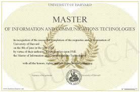 Master Of Information And Communications Technologies