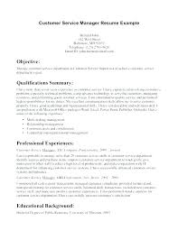 Business Management Resume Objective Resume Objective Management Dovoz