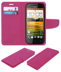 HTC Desire SV Flip Cover by ACM - Pink ...