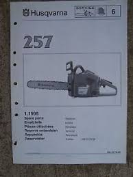image is loading 1996 husqvarna 257 power chain saw spare parts