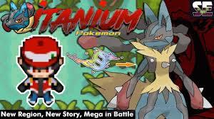 https://youtu.be/nk89jxGiYWE [GBA] Pokemon Titanium - NAWE Region Mega Evo  in Battle with DS Style Pokemoner.com