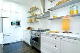 oak kitchen wall shelves wall shelf kitchen view in gallery shades of yellow on open stainless oak kitchen wall shelves