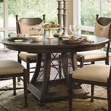 paula deen home 5 piece round pedestal dining table set with paula chairs hayneedle
