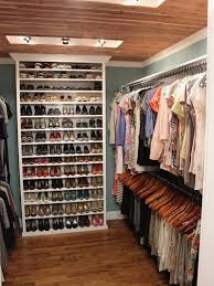 storing shoes in small closet inspired i love the idea of a bookcase inside a small