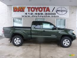 2013 Spruce Green Mica Toyota Tacoma SR5 Access Cab 4x4 #76987220 ...