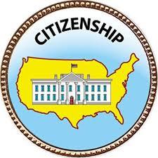 Keepsake Awards Citizenship Award 1 Inch Dia Gold Pin