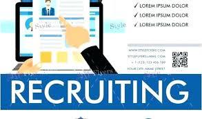 Recruitment Brochure Template Recruitment Agency Flyer Template Recruitment Brochure