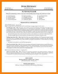 7 Portfolio Manager Resume Self Introduce