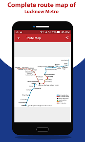 Lucknow Metro Route Map Fare 1 0 Apk Download Android
