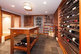 wine cellar lighting. Wine Cellar Room With Flush Mount Lighting : Building Your Own Cellars C