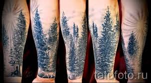 значение тату лес примеры на фото