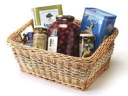 greek olive oil and olives gift basket