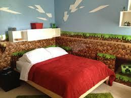 Minecraft Kids Bedroom Real Life Minecraft Bedroom Minecraft Bedroom With Nether