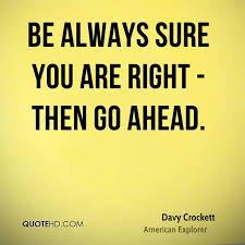 Davy Crockett Quotes Impressive Davy Crockett Quotes QuoteHD