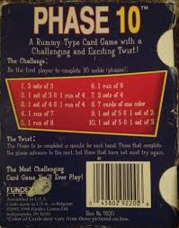 Once played in a phase, it cannot be replaced and used elsewhere. Phase 10 Card Game Board Game Fundex Games Card Game From Sort It Apps