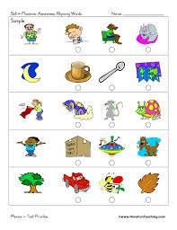 Rhyming Worksheets | Have Fun Teaching