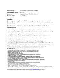 27 Apprentice Lineman Cover Letter Primary – Mobilezidea.info