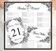 wedding seating chart \