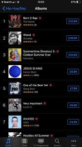 Hip Hop Charts Wwcd Currently 2 On Itunes Rap Hip Hop Charts Eminem