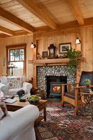living room : Rustic Fireplaces Beautiful Comfortable Craftsman ...