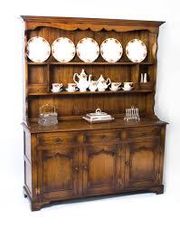 Dresser With Cabinet Vintage Welsh Oak Dresser Cabinet Sideboard 20th C