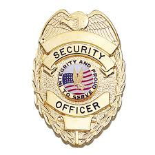 security guard badge template. LawPro Deluxe Security Officer Shield Badge
