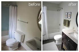 Before And After Remodeled Small Bathrooms Smart Elimination Of - Bathroom remodel before and after pictures