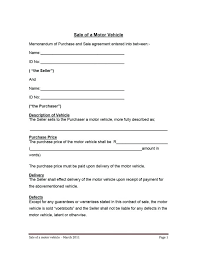 watercraft bill of sale motor vehicle purchase contract hire agreement template bill