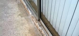 sliding glass door sill repair saudireiki