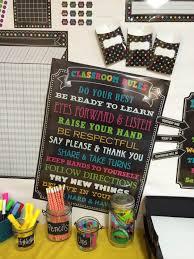 Chalkboard Brights Classroom Rules Chart Chalkboard Brights Classroom Rules Chart Classroom Ideas