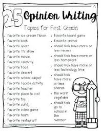 6th Grade Essay Prompts Writing Prompt For Second Graders Opinion Writing First