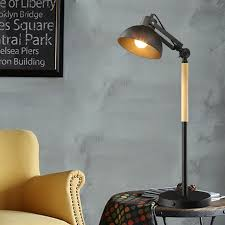 modern bedside bedroom wooden table lamp light ac 110v 220v european style creative personality