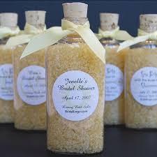 favors for wedding shower. bridal shower favors- bath salts for spa themed favors wedding