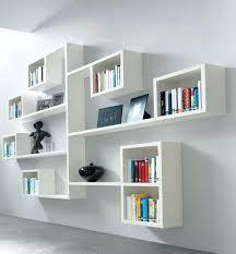 decorative shelves ikea modern wooden storage wall decoration ideas shelf