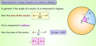 10 7 areas of circles and sectors form g answers how to find the area of a sector of a circle a plus topper