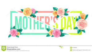 Mother S Day Graphic Design Floral Mothers Day Graphic Design Mothers Day Letter With