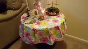 easy sewing project tablecloth how to make a round tablecloth
