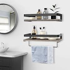 outstanding floating bathroom shelves