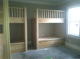 bunk bed with stairs plans. Built In Bunk Beds Bed Plans Dresser Diy With Stairs  D
