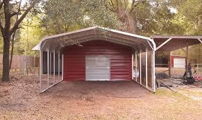 pre built metal carport