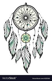 Set It Off Dream Catcher Beauteous Indian Dream Catcher Royalty Free Vector Image