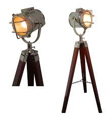 designer nautical royal tripod lamp vintage spot studio marine