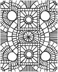 Small Picture Church Window Mosaic Coloring Page Download Print Online