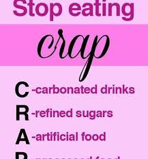 Fitness Motivation Quotes Simple Fitness Motivational Quotes Stop Eating CRAP Best Quotes Club