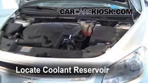 fix coolant leaks 2008 2012 chevrolet bu 2010 chevrolet locate the coolant reservoir and clean it