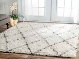 handmade moroccan trellis area rug white and grey beautiful white fuzzy rug